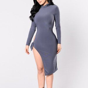 Fashion Nova Your Biggest Fan Dress